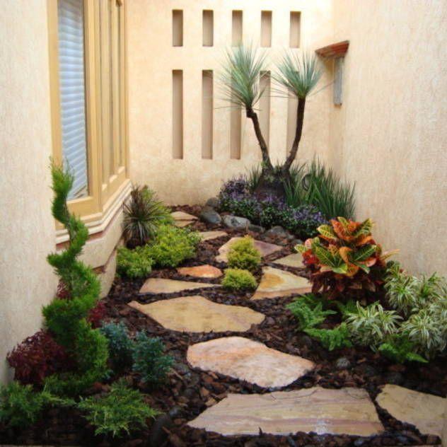 Las 25 mejores ideas sobre jardines bonitos en pinterest y for Jardin chico casa