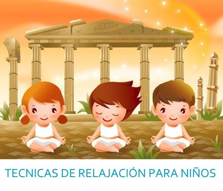 TÉCNICAS de relajación para niños/as