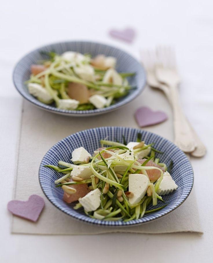 Salade de courgettes au Caprice des Anges