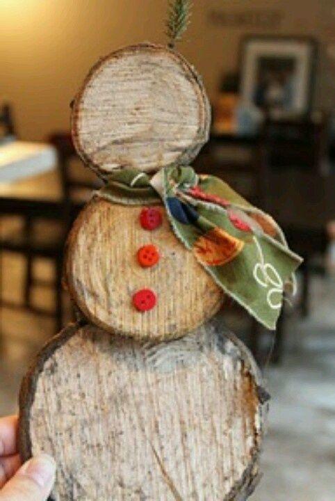 wooden snowman crafts   wooden snowman   Seasonal Decor & Crafts