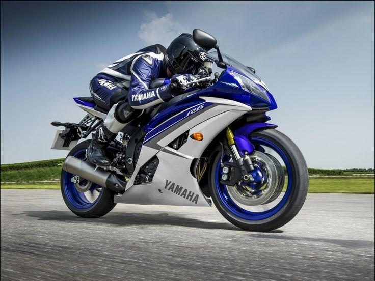 Мотоциклы Yamaha YZF-R6 и YZF-R125 ABS Race Blu 2015
