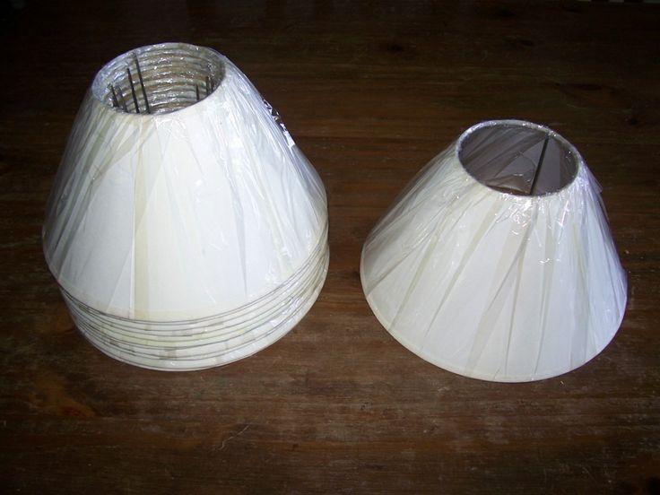 Como forrar una lampara fotos de pantallas para lamparas - Como hacer una lampara de mesa ...