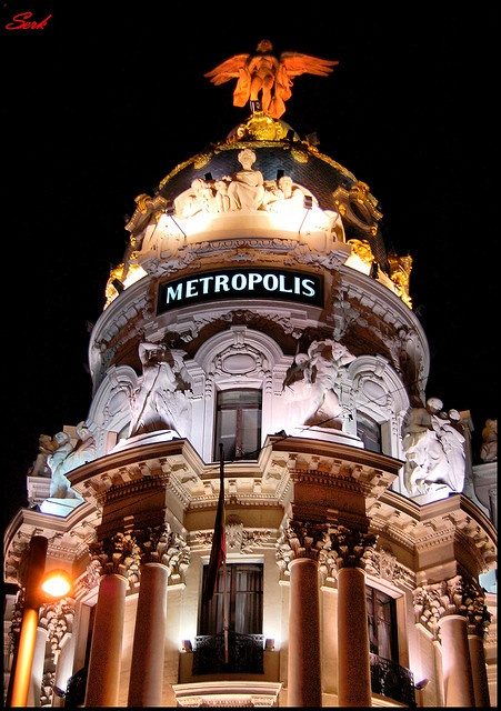 Madrid de noche salyven.net