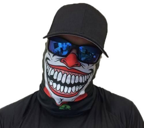 Motorcycle Face Mask - Joker