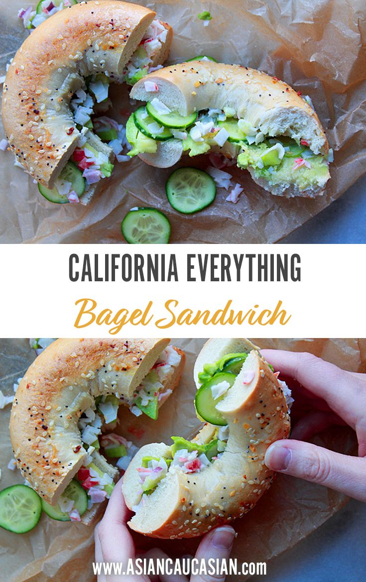 California Everything Bagel Sandwich