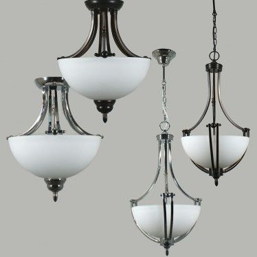 L2-1811 Traditional Bowl Ceiling Light Range from