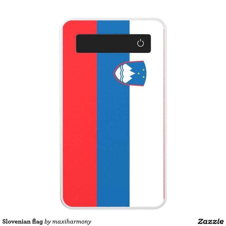 Slovenian flag power bank