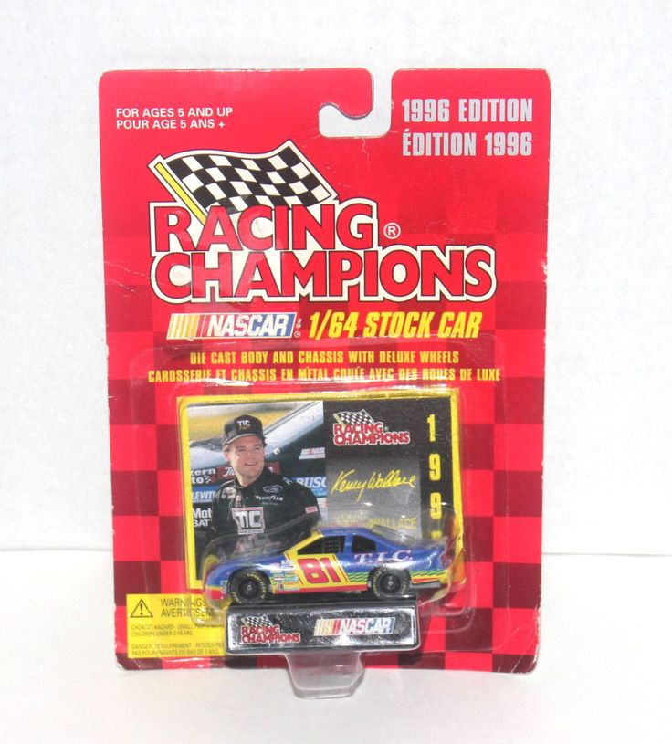 1996 Kenny Wallace 1/64 Stock Car, Nascar, Racing Champions, Antique Alchemy
