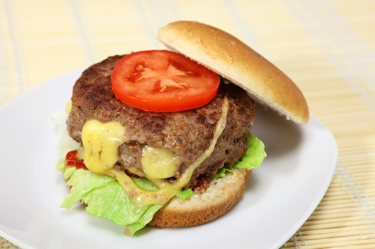 Southwest Stuffed Cheese Burgers with Grilled Sweet Onions