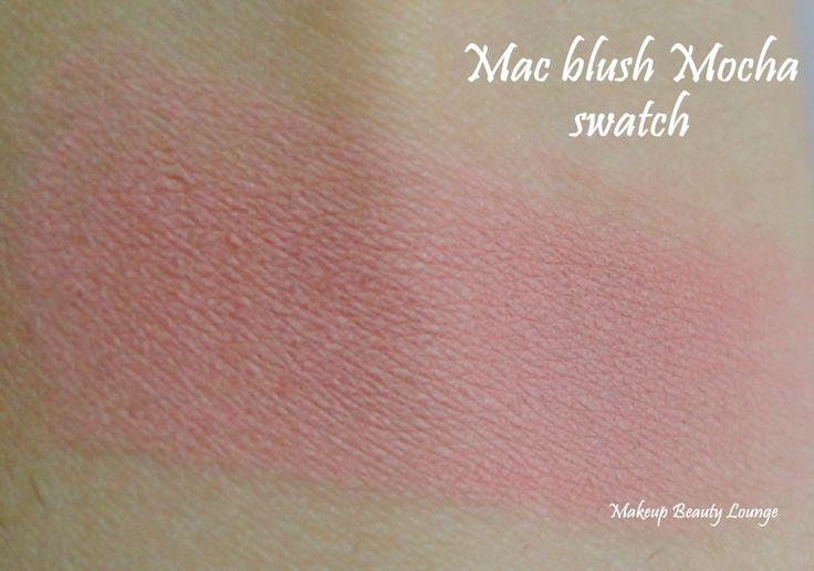 Mac Mocha Blush Swatch