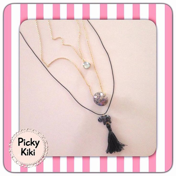 Handmade stylish necklaces for being in fashion and good mood every moment of the day!   Fall-Winter Collection 2015-'16   Picky Kiki Accessories