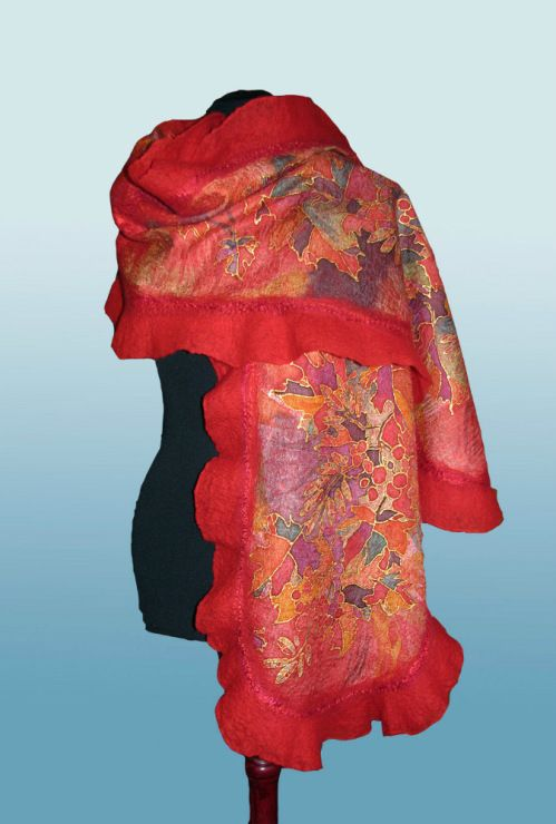 Silk Square Scarf - SilkSquare2500 by VIDA VIDA