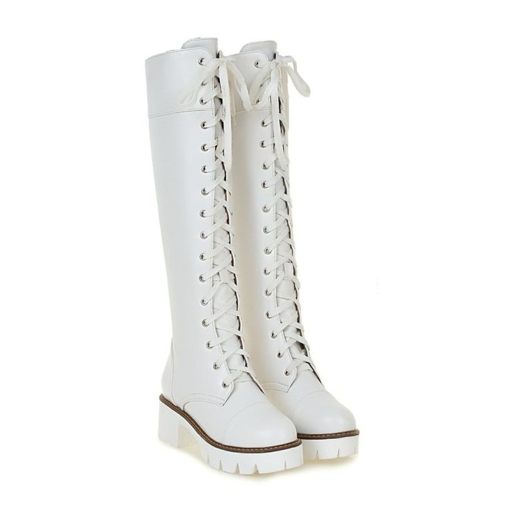 16.92$  Buy here - http://alipdh.shopchina.info/1/go.php?t=32727417511 - 2017 Winter Boots Big Size 34-43 Over The Knee Boots For Women Sexy High Heels Long Winter Shoes Round Toe Platform Knight 818-7  #aliexpressideas