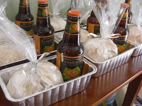 Home with Mandy: Pumpkin Beer Bread: A Party Favor. Can't wait to do this!!!