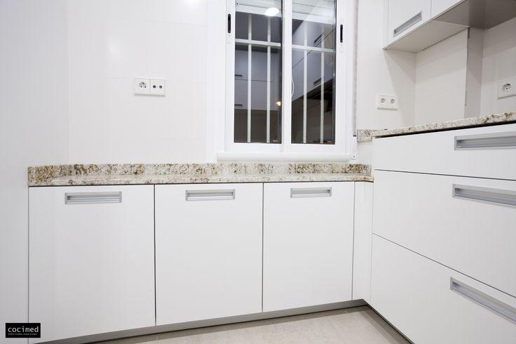M s de 25 ideas incre bles sobre cocina de granito blanco for Muebles de cocina juan carlos madrid