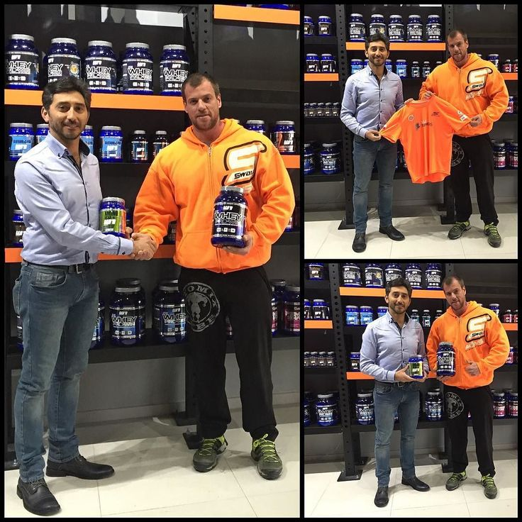 Hoy en la tienda de @winklernutrition firmamos un acuerdo con la prestigiosa marca de suplementos deportivos. En la foto Maximiliano Zambra Product Manager de Winkler Nutrition y nuestro Director Pablo González.