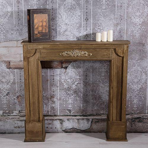 deko kamin attrappe kaminkonsole kaminumbau kaminsims kaminumrandung kamin wohnung einrichtung. Black Bedroom Furniture Sets. Home Design Ideas
