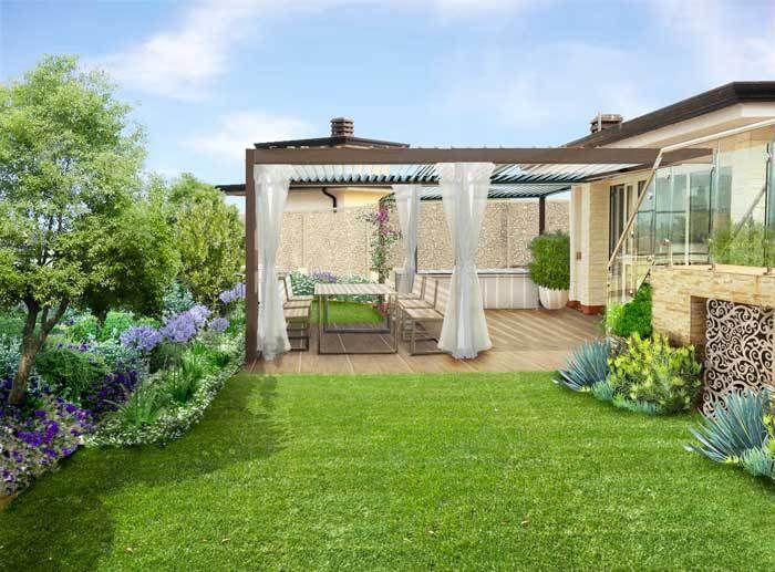 Progetto giardino pensile a benevento