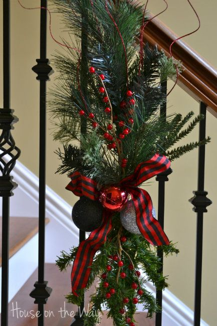 Garland air this thea Staircase the  picture  take bloggers   Christmas order BHG max on