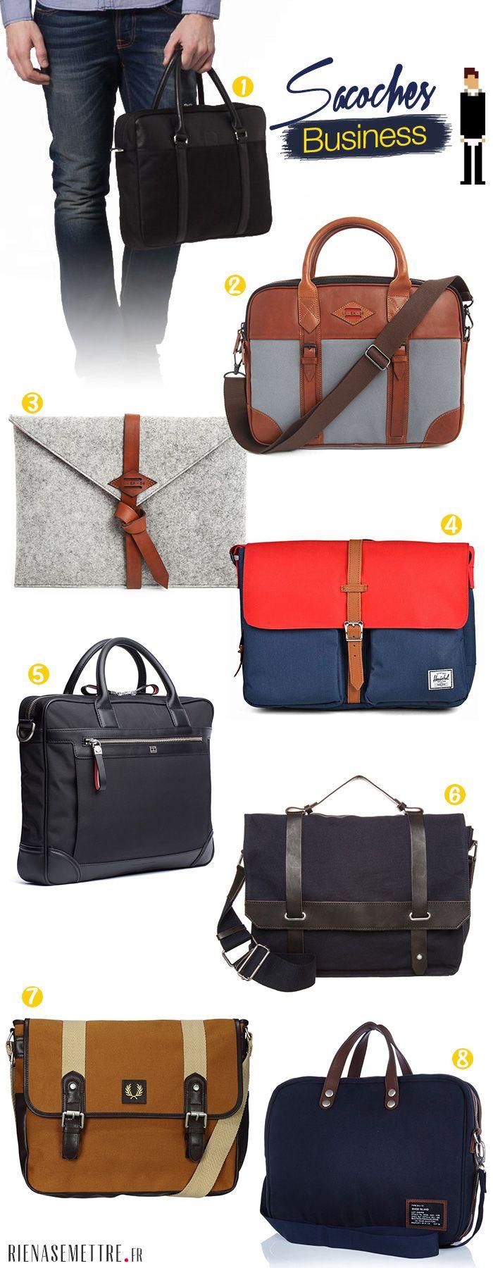 Trouvez la sacoche ordinateur idéale pour la rentrée : notre sélection de 8 sacs et pochettes pour transporter vos documents avec élégance