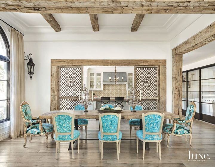 High Quality Laurel Pfannenstiel Interior Desgin. Turquoise Dining RoomTurquoise ChairHouse  ...