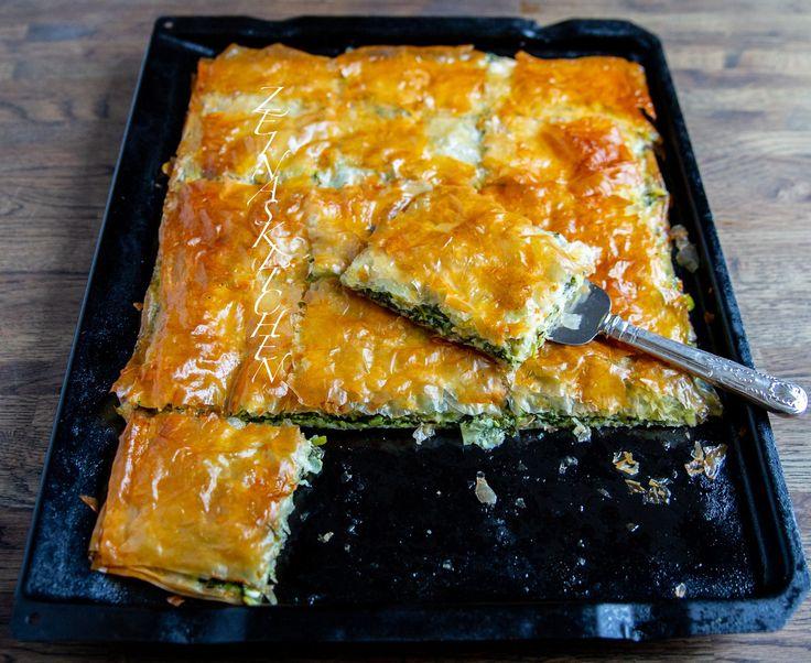 Filodegspaj med spinat og feta - ZeinaS køkken Mad-4885
