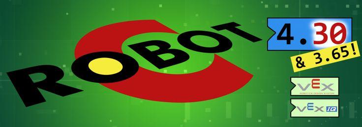Download ROBOTC for VEX Robotics Updates 4.30 or 3.65 Today!