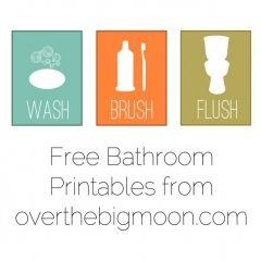 Bathroom Printables