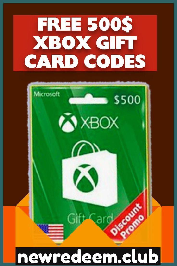 Free xbox code generator in 2020 xbox gift card xbox