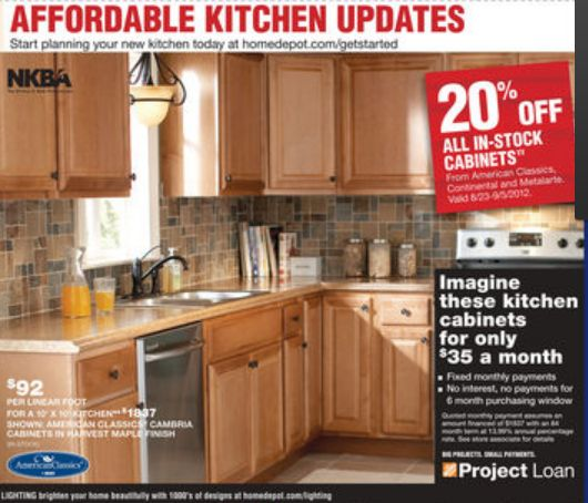 Home Depot Ad Deals For 8 30 9 5 Home Depot Kitchentile Ideaskitchen Cabinetscoupons