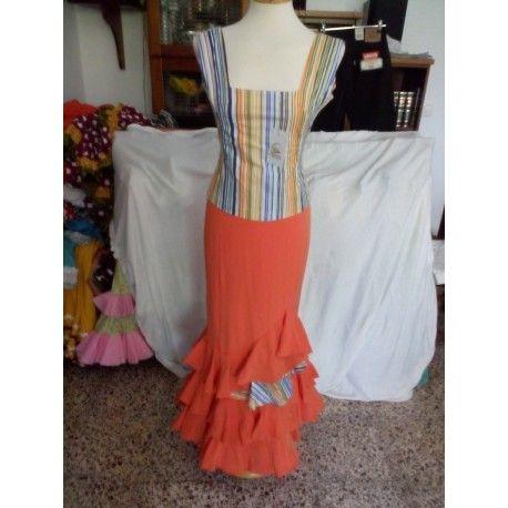 TRAJE DE FLAMENCA DE LA TALLA 34 EN NUESTRA TIENDA  http://lareventaonline.com/es/12-moda-flamenca