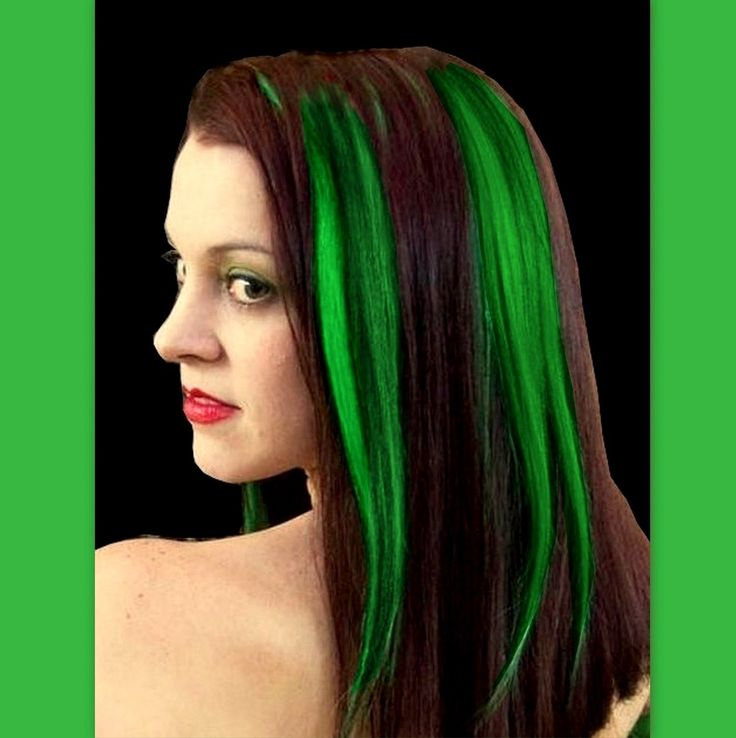 26 best clip in hair extensions images on pinterest go gorgeous green green highlightshuman hair extensionscolored pmusecretfo Gallery