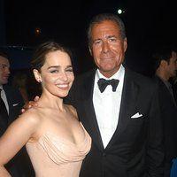 Richard Plepler and Emilia Clarke at an event for The 68th Primetime Emmy Awards (2016)