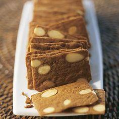 Pains Amande - Pour 6 personnes: 200g de farine 140g de cassonade 80g de beurre…