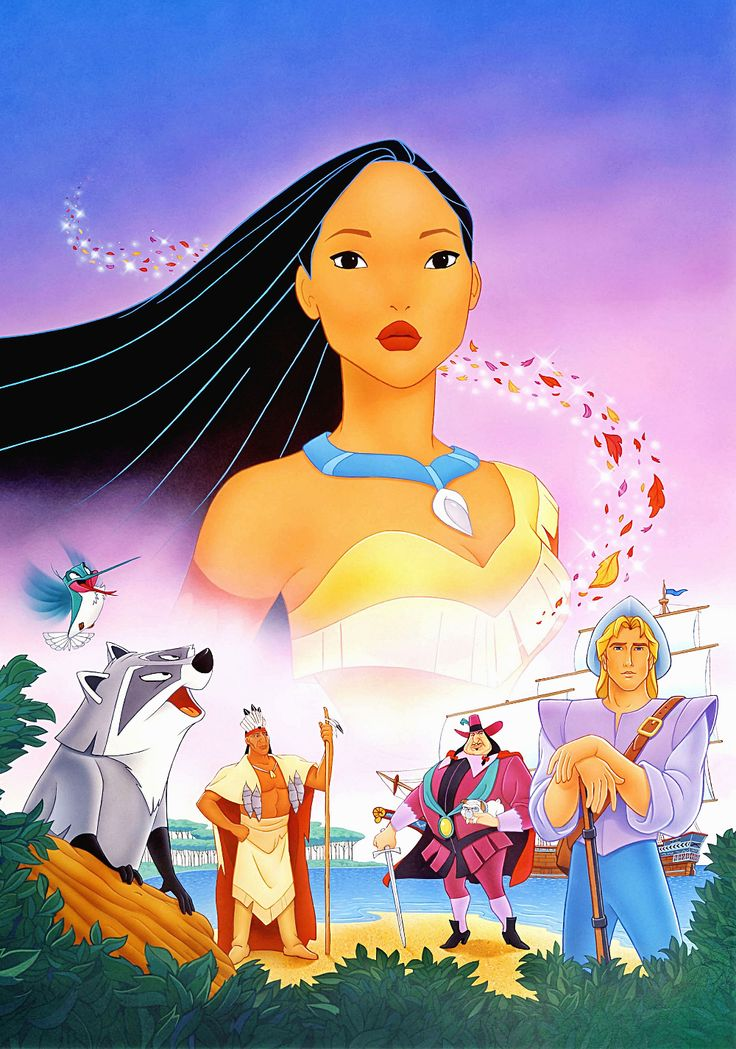 Pocahontas (1995) | Animation ~ Adventure ~ Drama | Two different worlds.... One true love