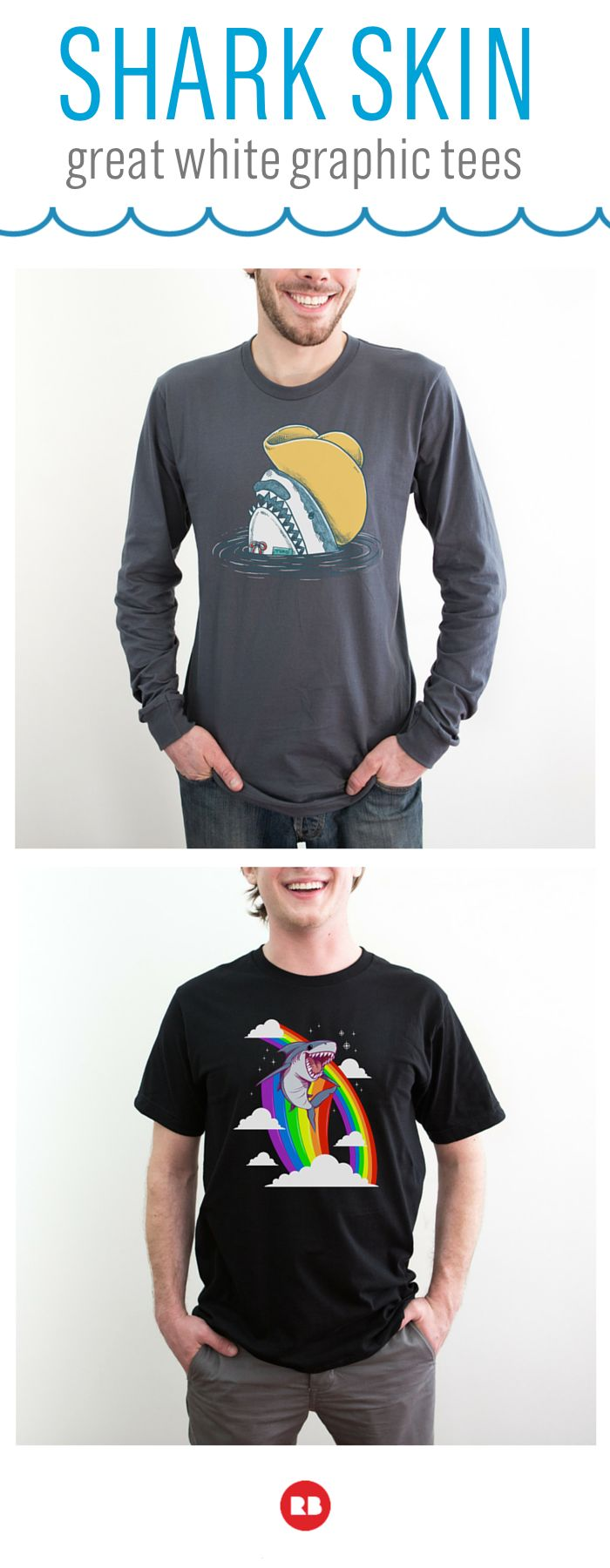 Live #sharkweek every week! Find Jaws-dropping shark tees ranging from ferocious to funny on Redbubble. Come hunt for your next great white tee  in our collection of prints from artists around the world.