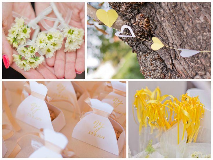 Yellow wedding inspiration..