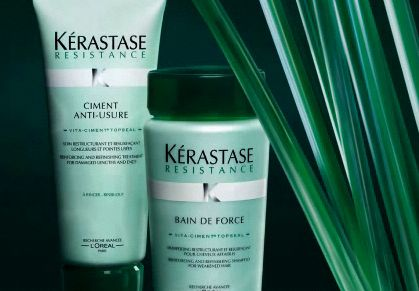 Kerastase resistance bain de force damage repair shampoo for Kerastase bain miroir conditioner
