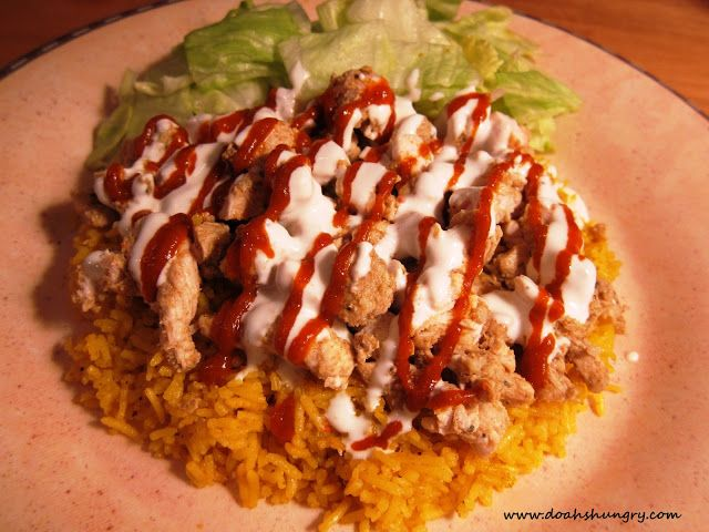 23 best halal food cart recipes images on pinterest cart karting chicken rice inspired by 53rd 6th halal cart nyc recipes forumfinder Images