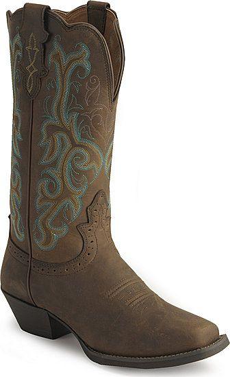 Justin Stampede Western Cowboy Boots {Sheplers}}
