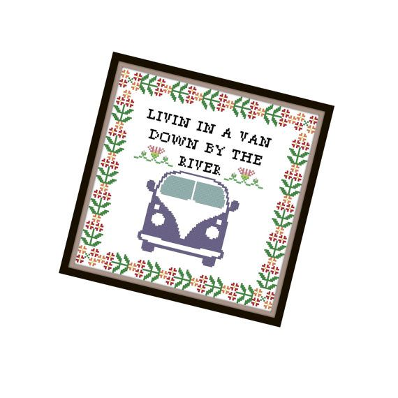Chris Farley Quote  SNL Cross Stitch Pattern  Cross Stitch