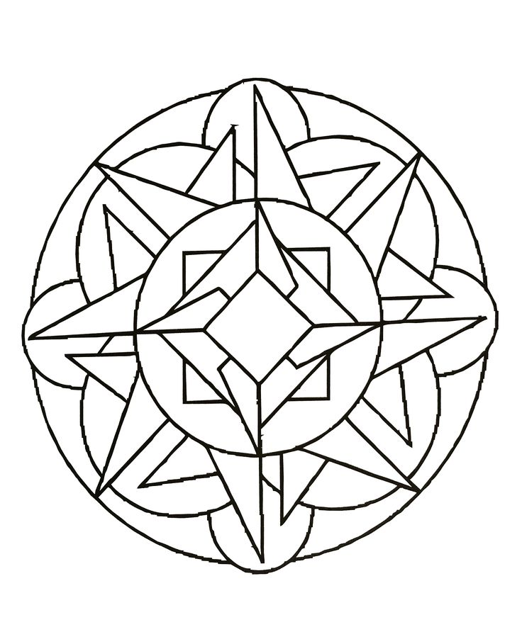 free coloring page mandalas to download for free 23