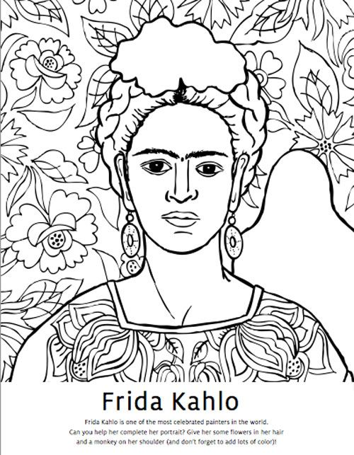 d arte mural coloring pages - photo #9