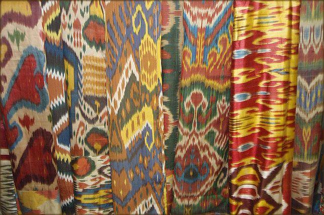 Ikats from Uzbekistan