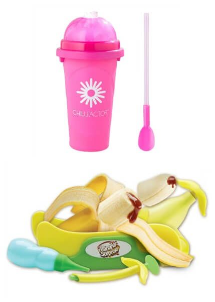 20 Brilliant Cooking and Baking Present Ideas for Children - Slushy Maker and Banana Surprise Kit