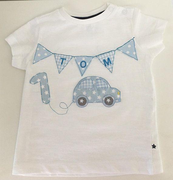 T-Shirt selbst genäht roter Traktor