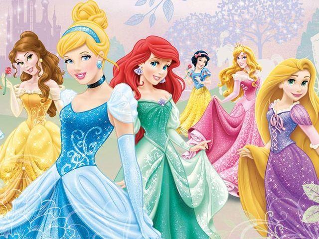 Pick your favorite princess dress:
