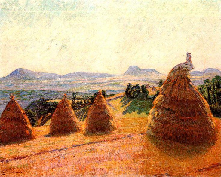 Plateau Bromont at Pontgibaud (Puy de Dôme), 1890, Armand Guillaumin