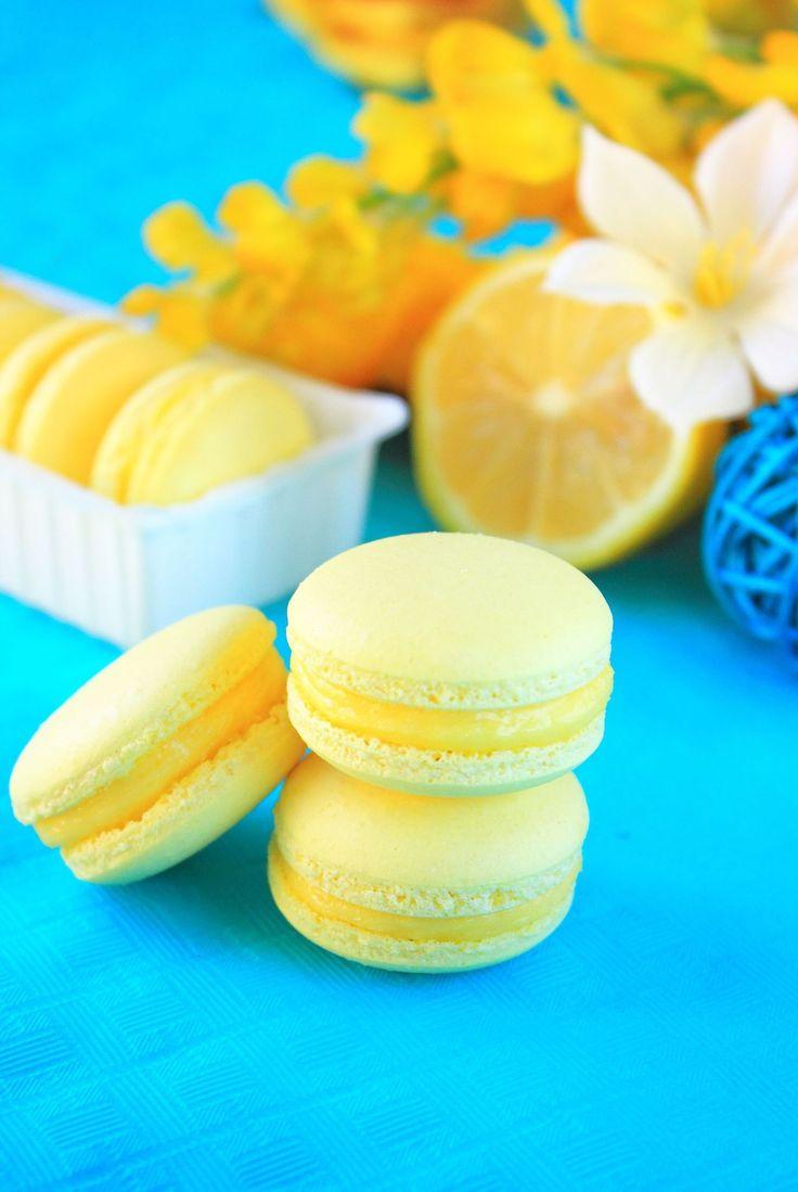 Macaron citron2