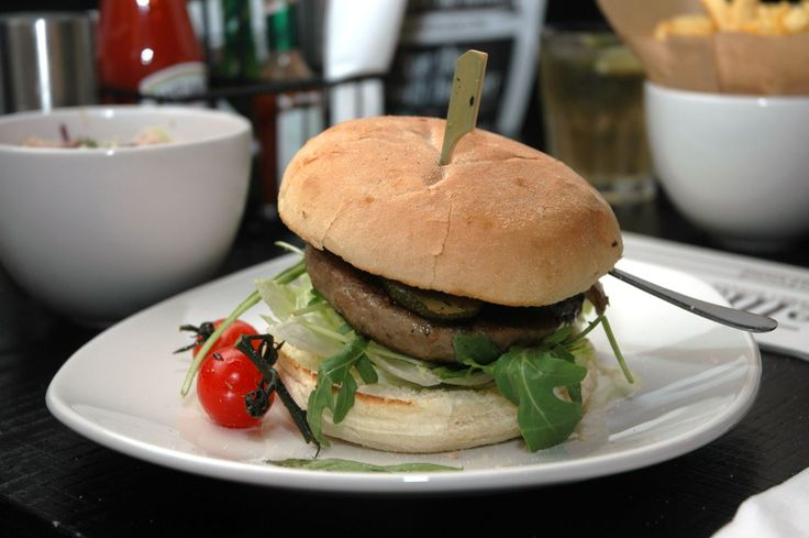 .... Veggie Burger from Ellis Gourmet Burger.